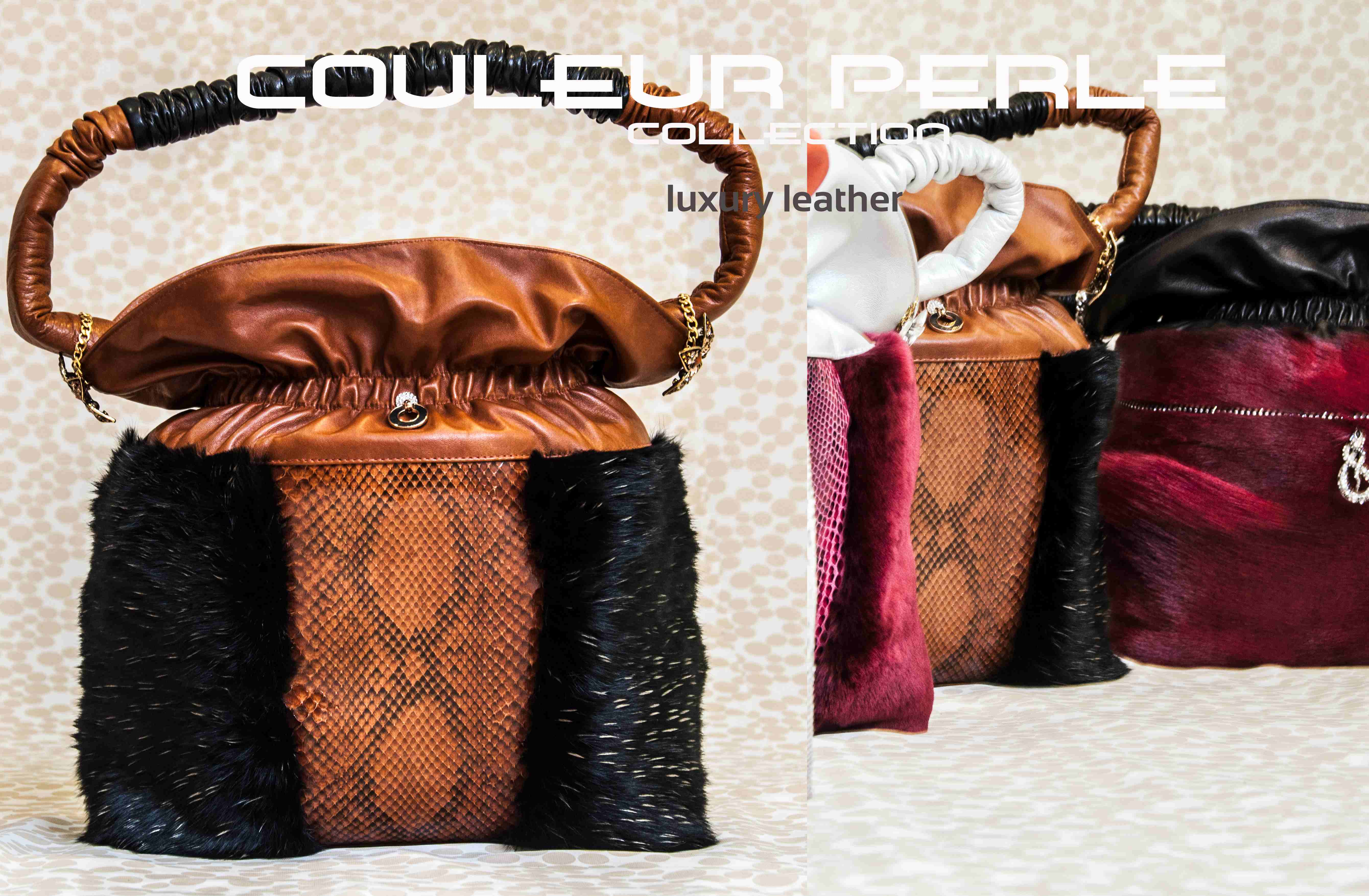 Python bags haute couture pret a porter for Haute couture and pret a porter